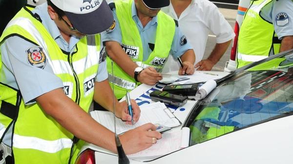 Trafik cezası sorgulama ve ödeme ekranı