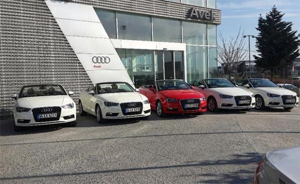 Avek Audi yedek araç