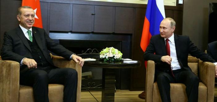 Putin'in esprisi Erdoğan'ı güldürdü