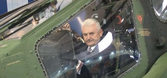 Başbakan Yıldırım ilk Milli helikopter