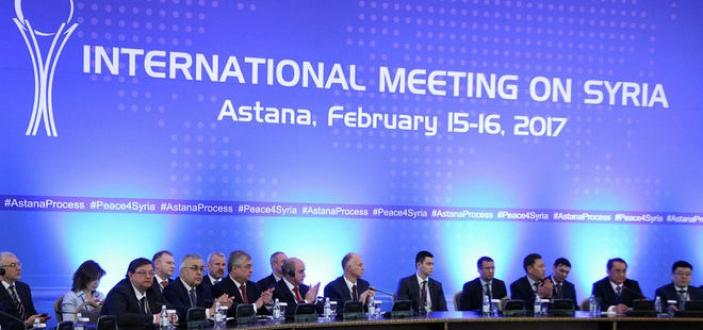Astana'daki Kritik Suriye zirve ertelendi...Kazakistan Dışişleri Bakanlığı, 12 Haziran'da Suriyeli rejim ve muhalifleri bir araya getirecek barış görüşmelerinin ertelendiğini duyurdu.