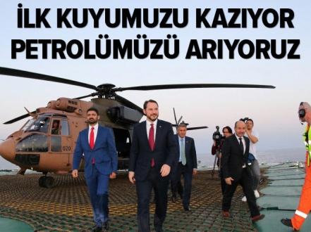 Albayrak'tan Barbaros Hayrettin Paşa gemisine ziyaret