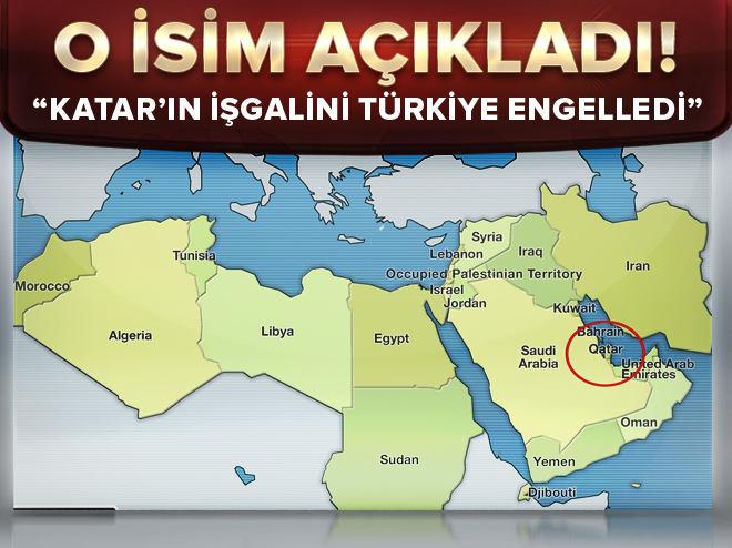 Türkiye Katar'a işgali engelledi