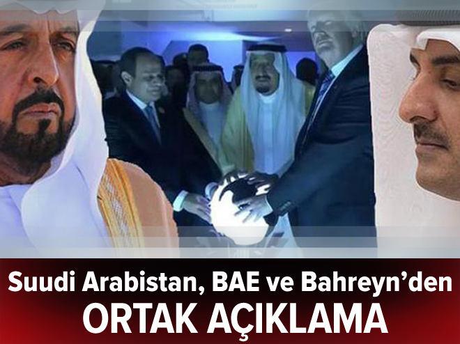 Ortak Katar açıklaması